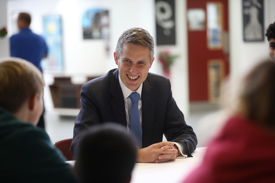 Secretary of State for Education Visits Beauchamp College